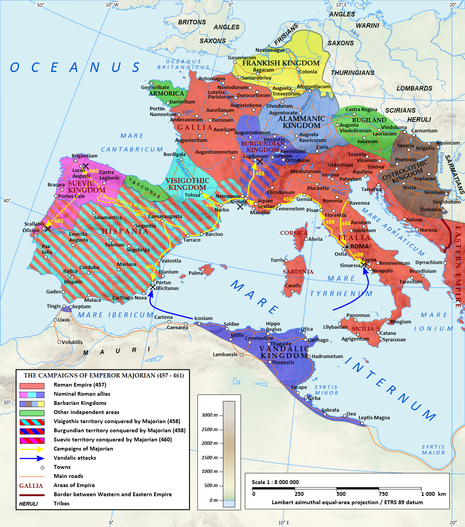 Wars and Battles with Rome - Völkerwanderung :The Migration